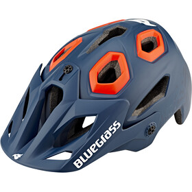 bluegrass Golden Eyes Helm petrol blue/orange